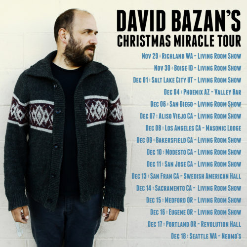 To Celebrate The Release Of David Bazanu0027s New Christmas Albumu201dDark Sacred  Nightu201d Heu0027ll Embark On His First Ever Christmas Themed Tour. Part 43